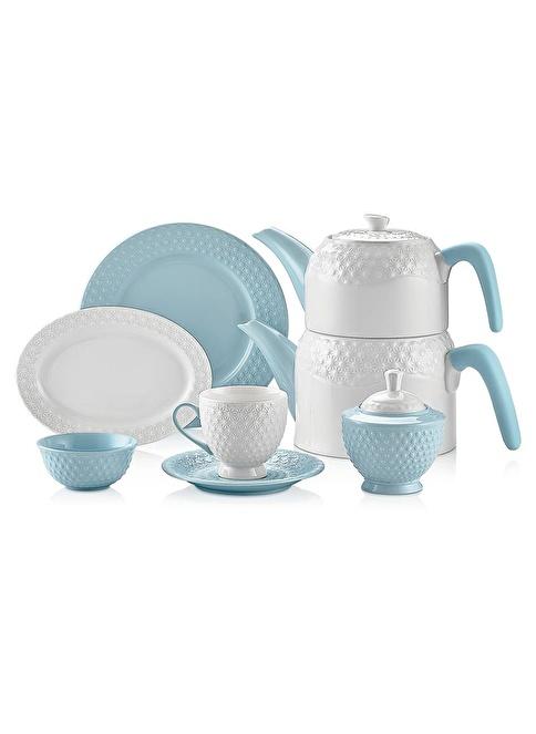 Schafer Eden Collection 34 Parça Kahvaltı Tkm Mavi